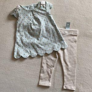 🟣3/$20🟣 NWT TAHARI BABY Matching Set